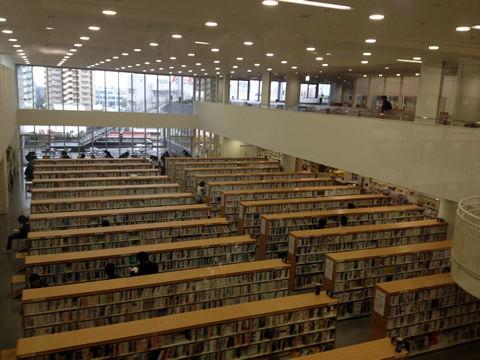 桑名市中央図書館