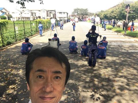 消防団ポンプ操法審査会