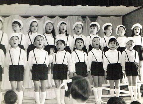かつての合唱祭