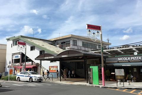 現在の清瀬駅