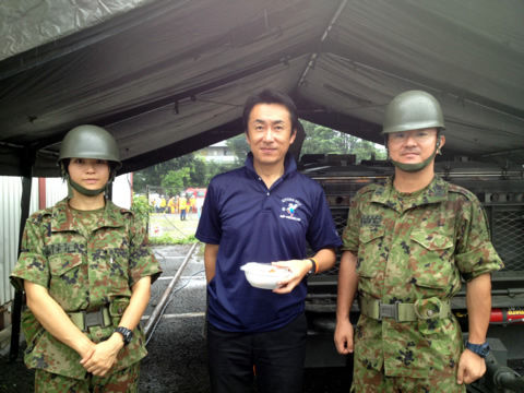 総合防災訓練