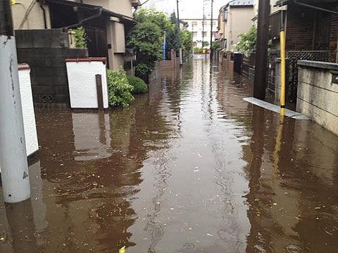2011.5の大雨の様子