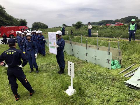 総合水防訓練