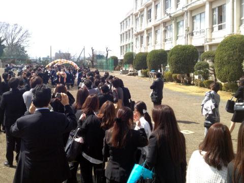 清瀬四中卒業式