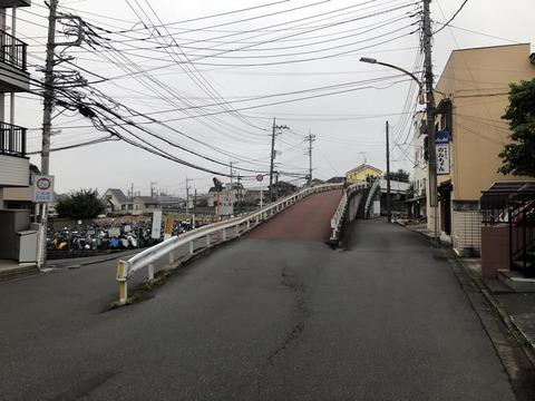 武蔵野線の陸橋