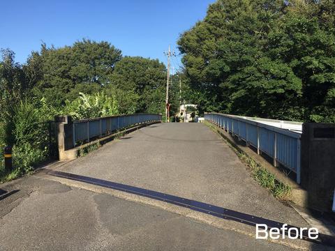 柳原橋改修