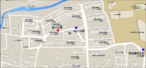 バス停略図