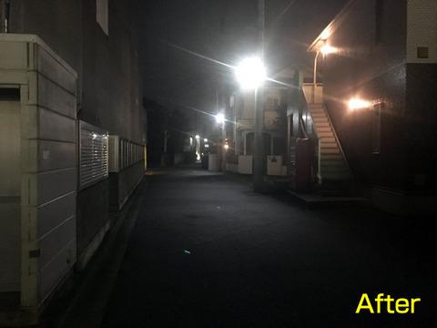 外灯の新設