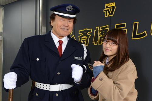 元プロレスラーの天龍源一郎 ドラマデビュー戦