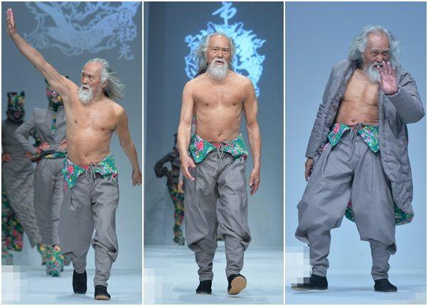 79歳のおじいさんモデル