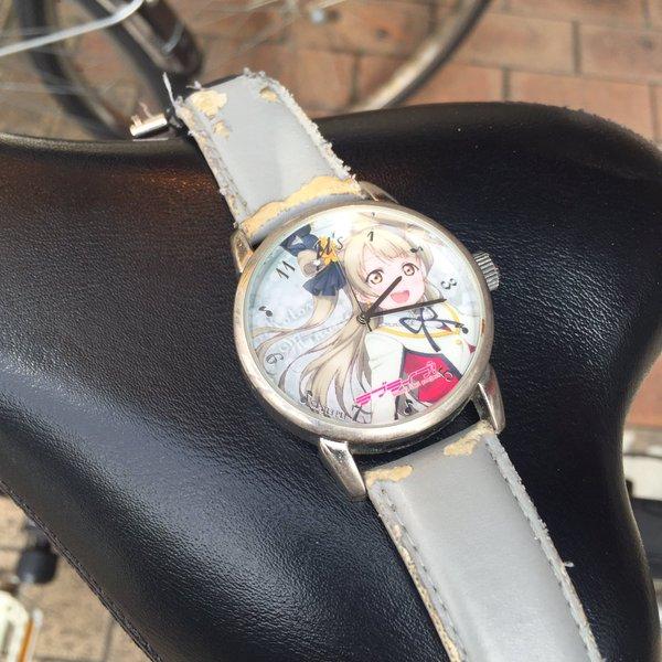 ラブライブの腕時計