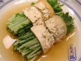 水菜の関東煮