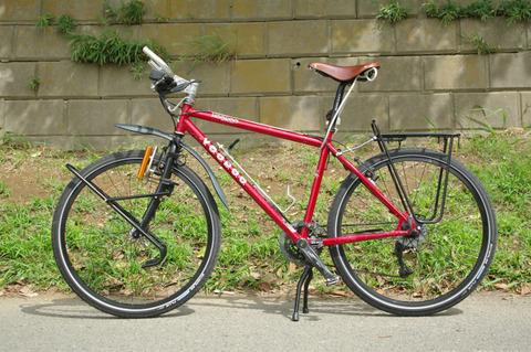 自転車旅行装備品[フレーム ...