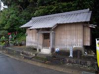 浮鞭の大師堂