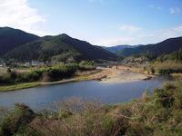 国道から下ノ加江川を眺めて2