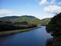 国道から下ノ加江川を眺めて1