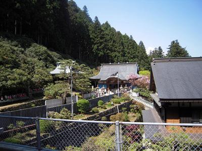 横峰寺境内の様子1