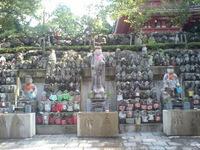 竹林寺の境内にて