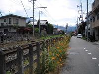 秩父鉄道 沿線に沿って歩く