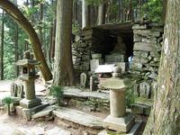 星ガ森 大師像が祀られた御堂