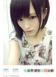 AKB48さや姉、心機一転 髪バッサリショート2
