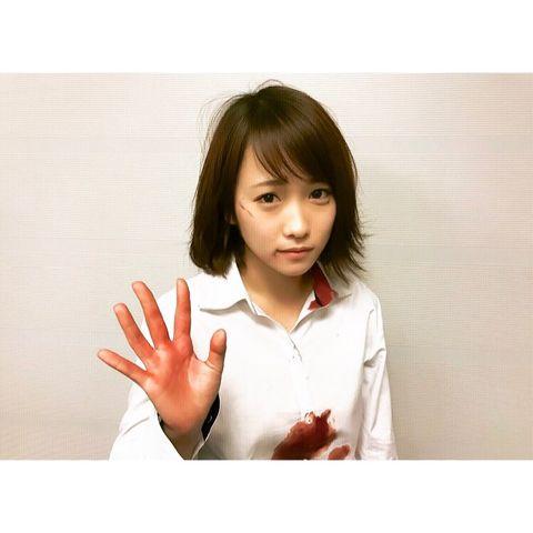 【画像】川栄李奈さん、髪をばっさり切ってさらに2