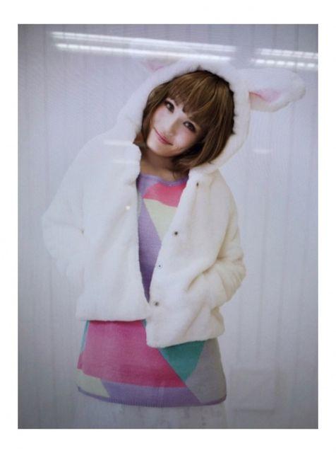 【画像】平野ノラ、バブル封印ショットが可愛すぎ3
