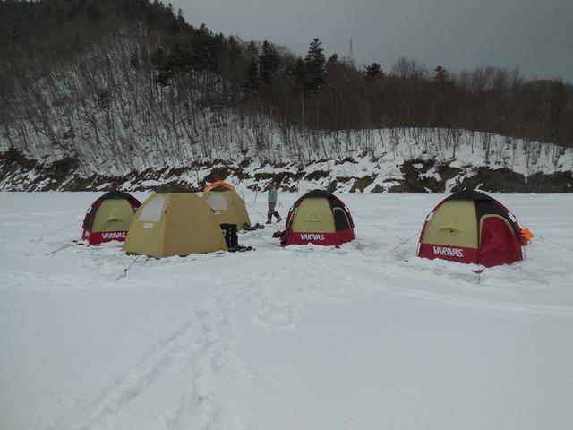 最後のテント村