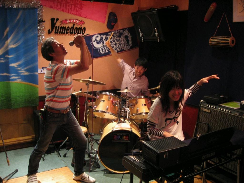 京都いっぷく茶屋で新バンド結成