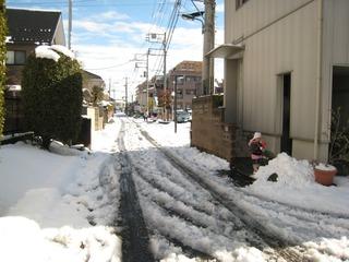 0209大雪後の我が家周辺2