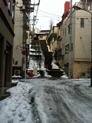 0210雪の階段1