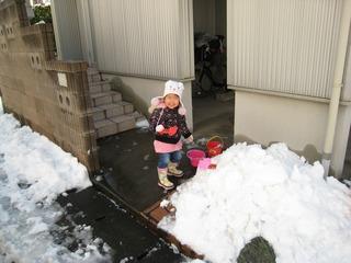 0209大雪後の我が家周辺1