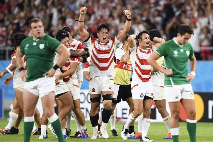 ラグビー 日本 vs アイルランド