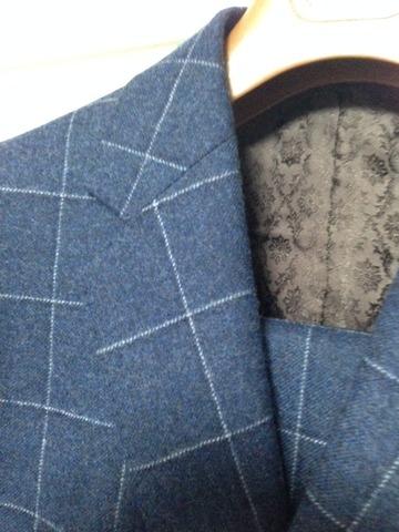 スーツ ノッチドラペル