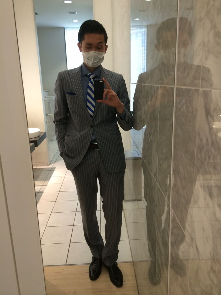 スーツ サラリーマンのスーツ 着こなし術