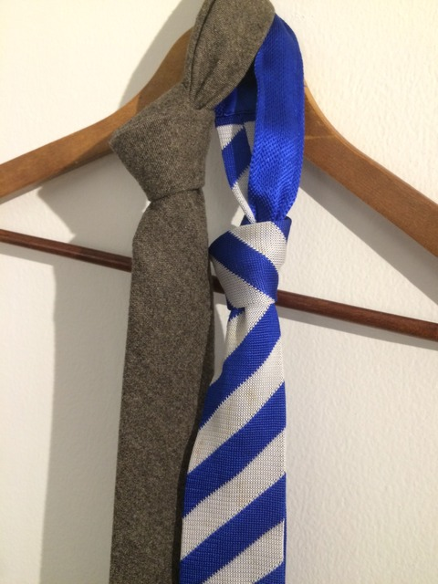 冬用ネクタイ