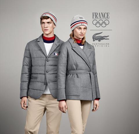 ソチオリンピック ラコステ