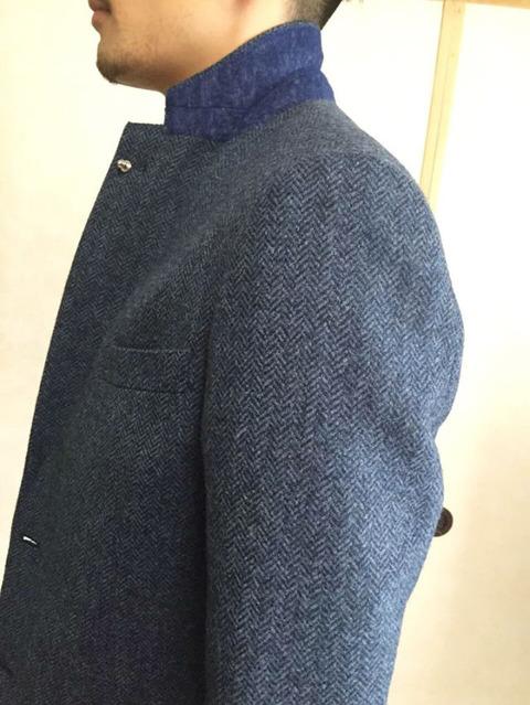 スタンドカラー ジャケット