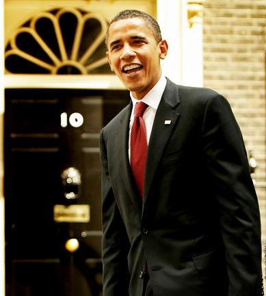 オバマ スーツ着こなし
