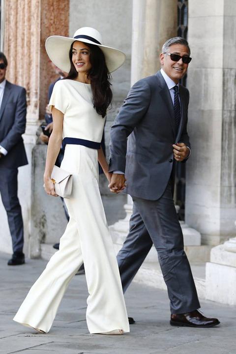 ジョージクルーニー 結婚式
