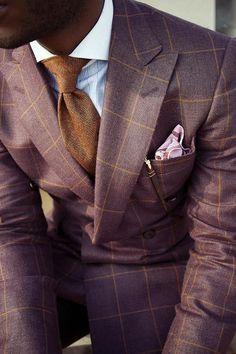 スーツ着こなし