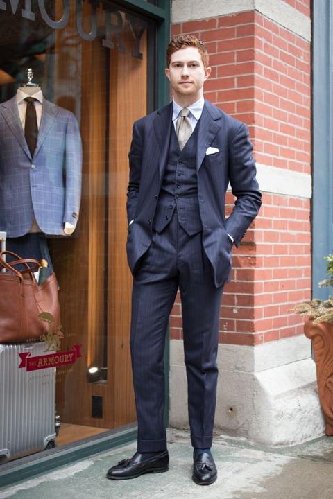 パンツ丈 スーツ