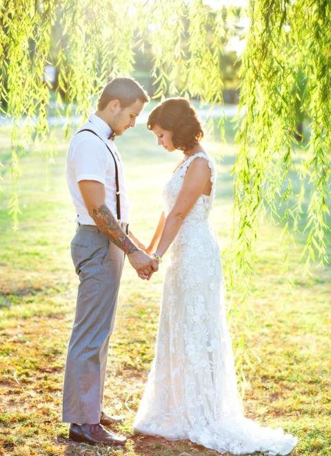 サスペンダー 結婚式