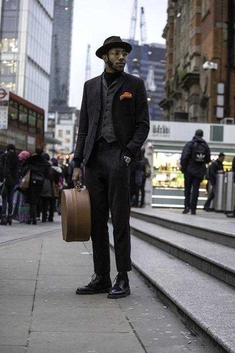 海外 スーツスナップ