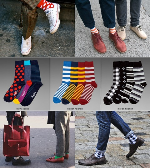 靴下 お洒落