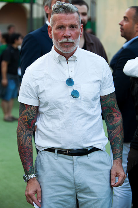 サラリーマン 半袖シャツ