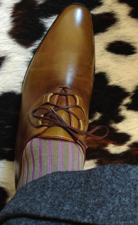 ストライプ 靴下