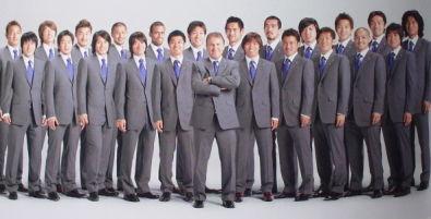 サッカー日本代表スーツ 2006年