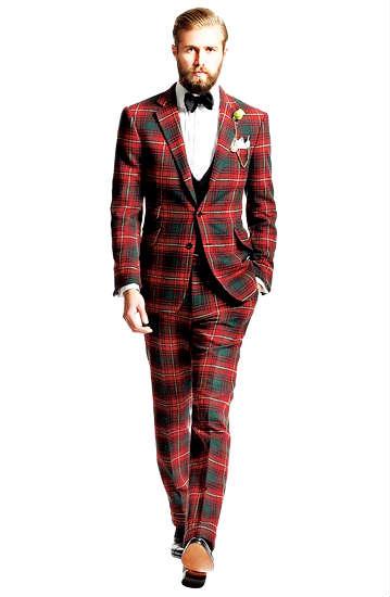 スーツ スナップ