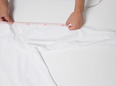 袖の長さ サイズ測り方